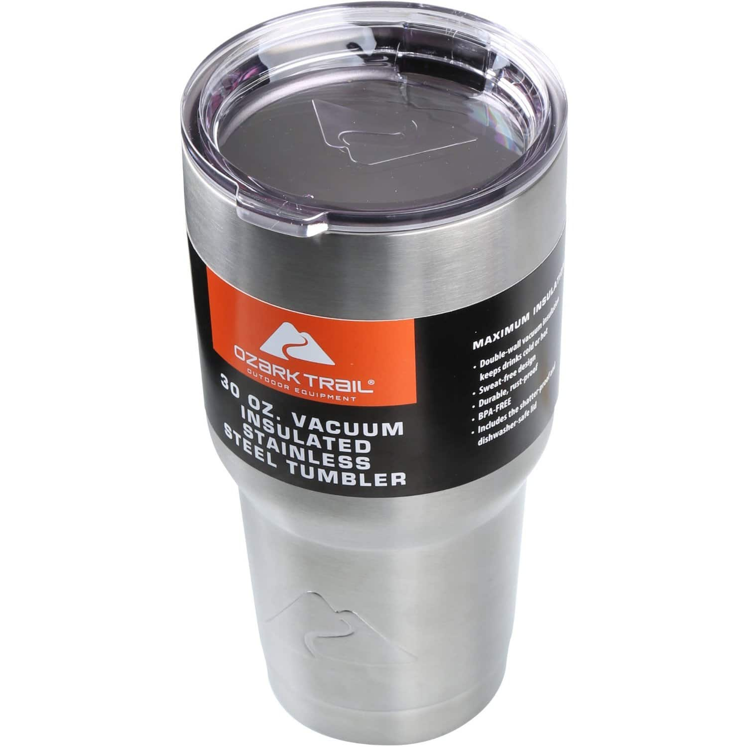 Ozark Trail 30oz Double-Wall Vaccum-Sealed Tumbler  $9.75 + Free Store Pickup