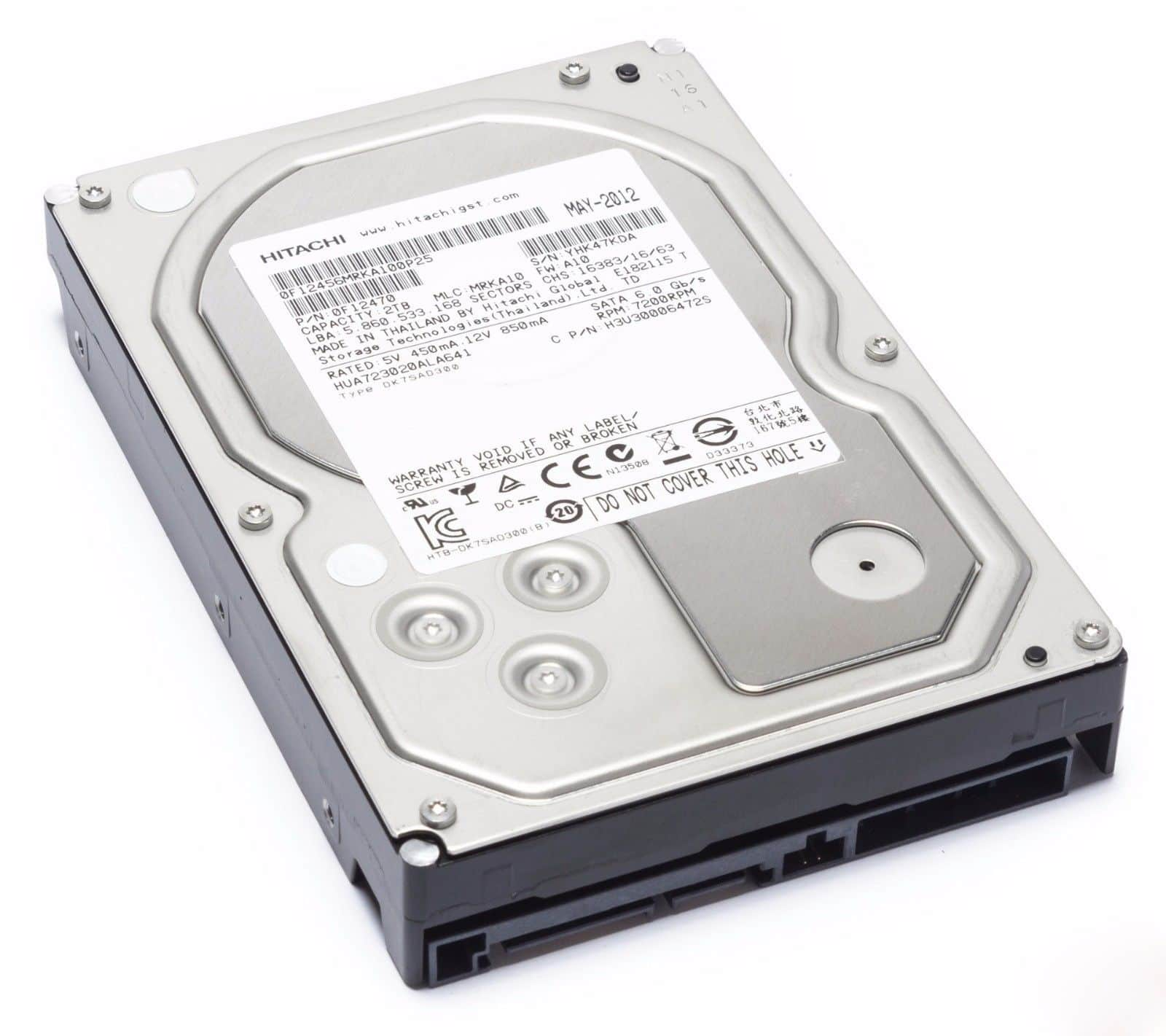 "2TB Hitachi Ultrastar 7K3000 3.5"" Internal HDD (Refurbished)  $35 + Free Shipping"
