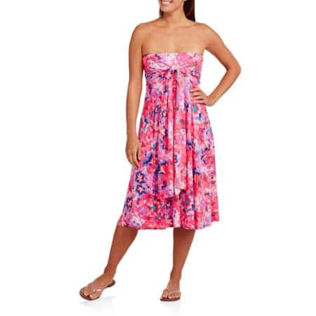Women's Concepts 8-in-1 Convertible Dress (Various Colors & Sizes) $7.50 + Free Store Pickup @ Walmart