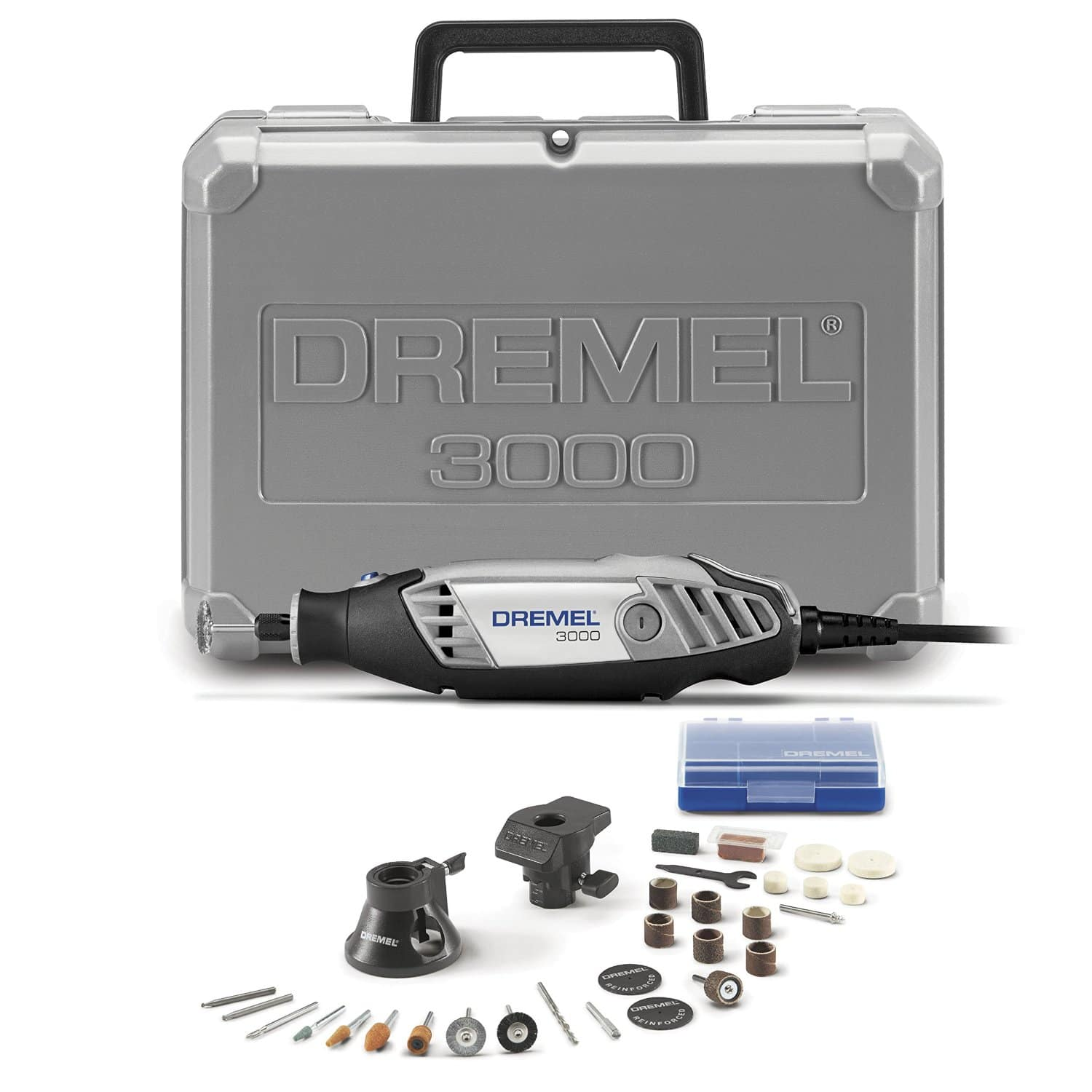 Dremel 3000-2/28 Rotary Tool w/ Sanding/Grinding Attachment & 28 Accessories Kit $49 + Free Shipping