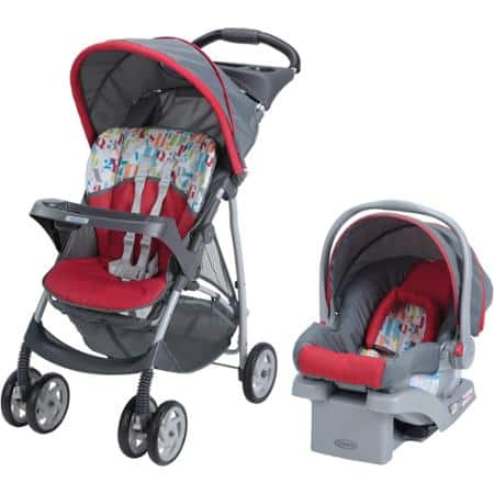 Graco LiteRider Click Connect Travel System - $108 + Free Shipping or Pick-up in stores - Walmart