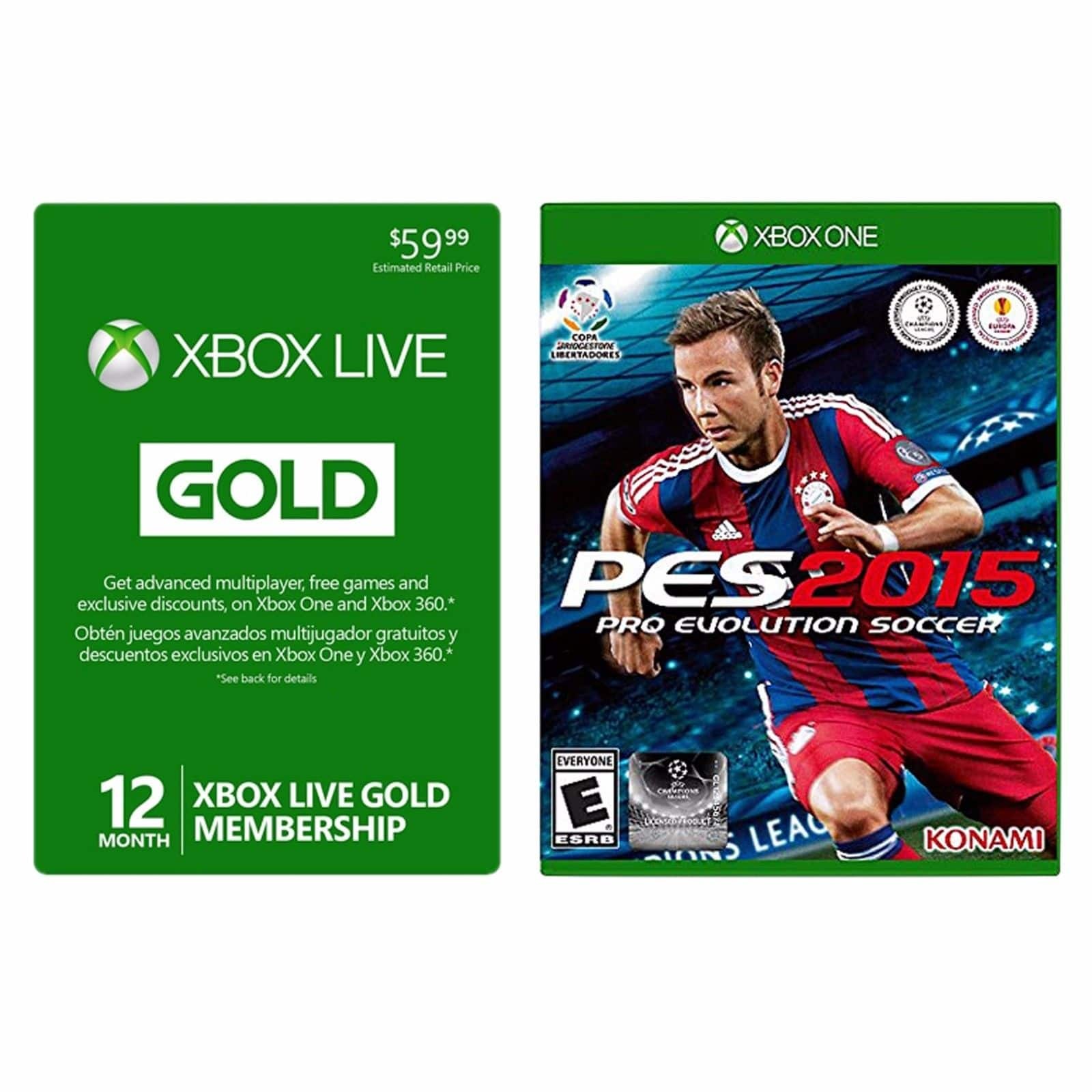 Xbox Live 12-Month Gold Membership Card $40 + Free Shipping