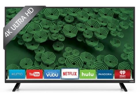 "40"" VIZIO D40U-D1 4K Smart Ultra LED HDTV + $125 Dell eGift Card  $400 + Free Shipping"