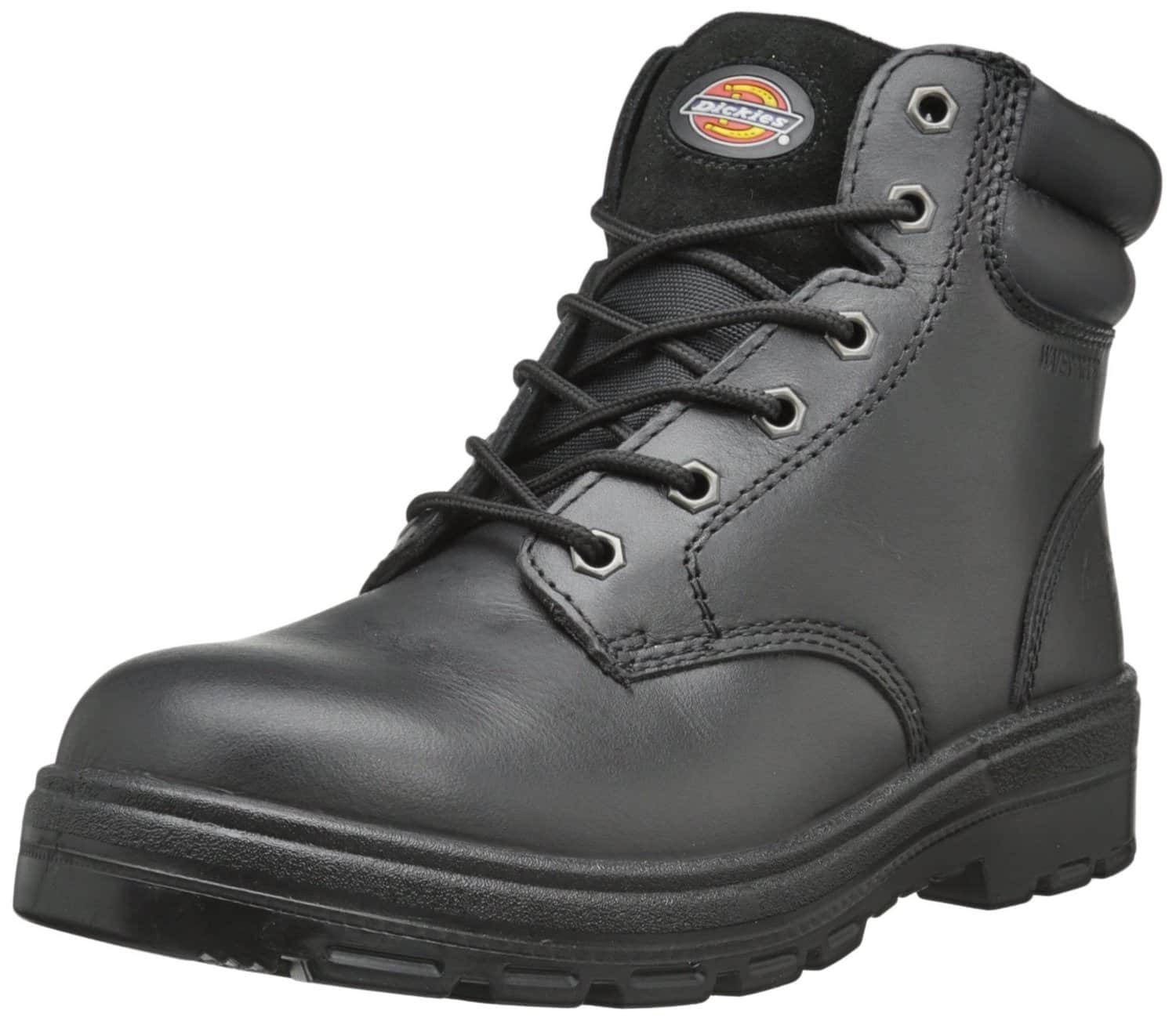 Dickies Men's Challenger Leather Waterproof Work Boots (Black) $19.86 Shipped w/ Redcard or $25+ Order Target.com