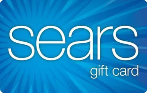 $100 Sears Gift Card For Only $85 + Free Shipping! (eBay Daily Deal)