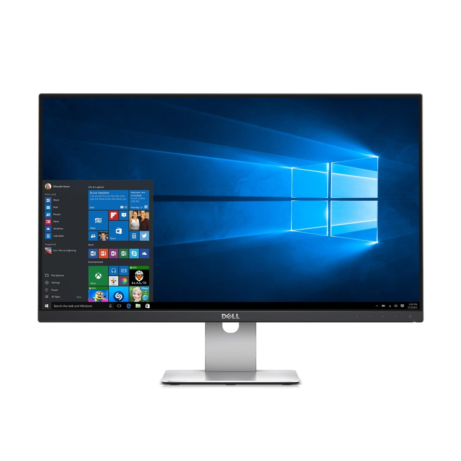 """24"""" Dell S2415H 1080p IPS LED Monitor + $100 Dell eGift Card  $188 + Free Shipping"""
