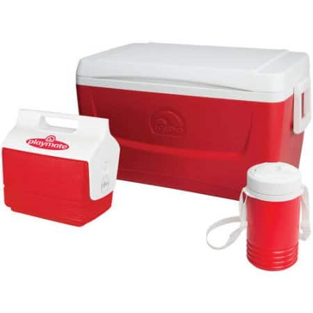 *price drop* Igloo 48-Quart IB Cooler w/ Playmate Mini Cooler w/  Legend 1-Quart Jug (red) $21 + free site-to-store shipping at Walmart