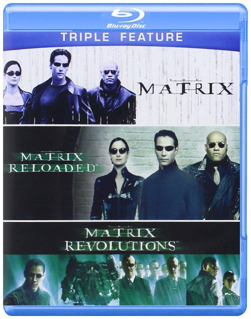 The Matrix Triple Feature (Blu-ray)  $10 + Free Store Pickup