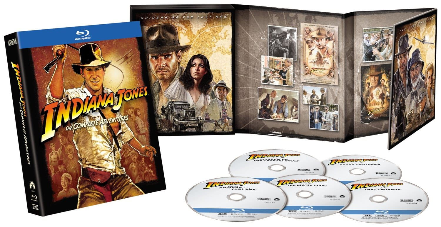Indiana Jones: The Complete Adventures (Region-Free Blu-ray) $20.44 Shipped