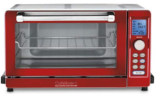 Cuisinart TOB-135 Deluxe Convection Toaster Oven (Red)  $88 + Free S/H