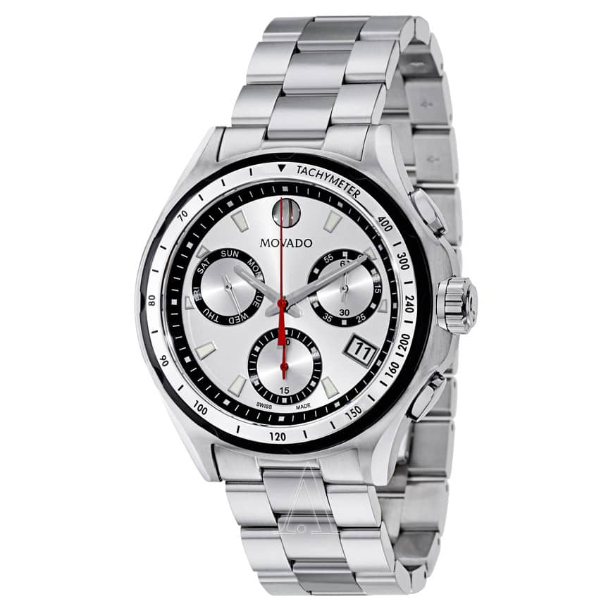 Men's Movado 800 Stainless Steel Watch - $319 + Free Shipping
