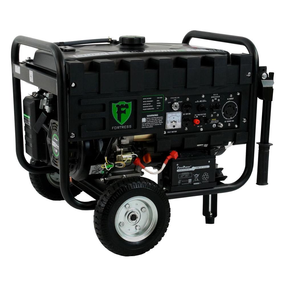 DuroStar Elite 4400W Hybrid Portable Dual Fuel Propane / Gas RV Generator $319.99 + free shipping