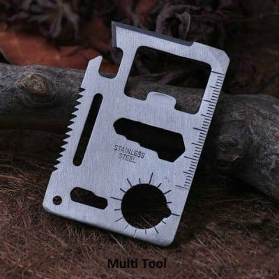 Multi-function Credit Card Size Multi Tool - $0.10 + Free Shipping @ GearBest