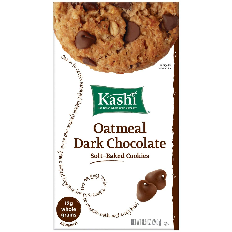 3-Pack of 8.5oz Kashi Cookies (Oatmeal Dark Chocolate)  $1.10 + Free Shipping