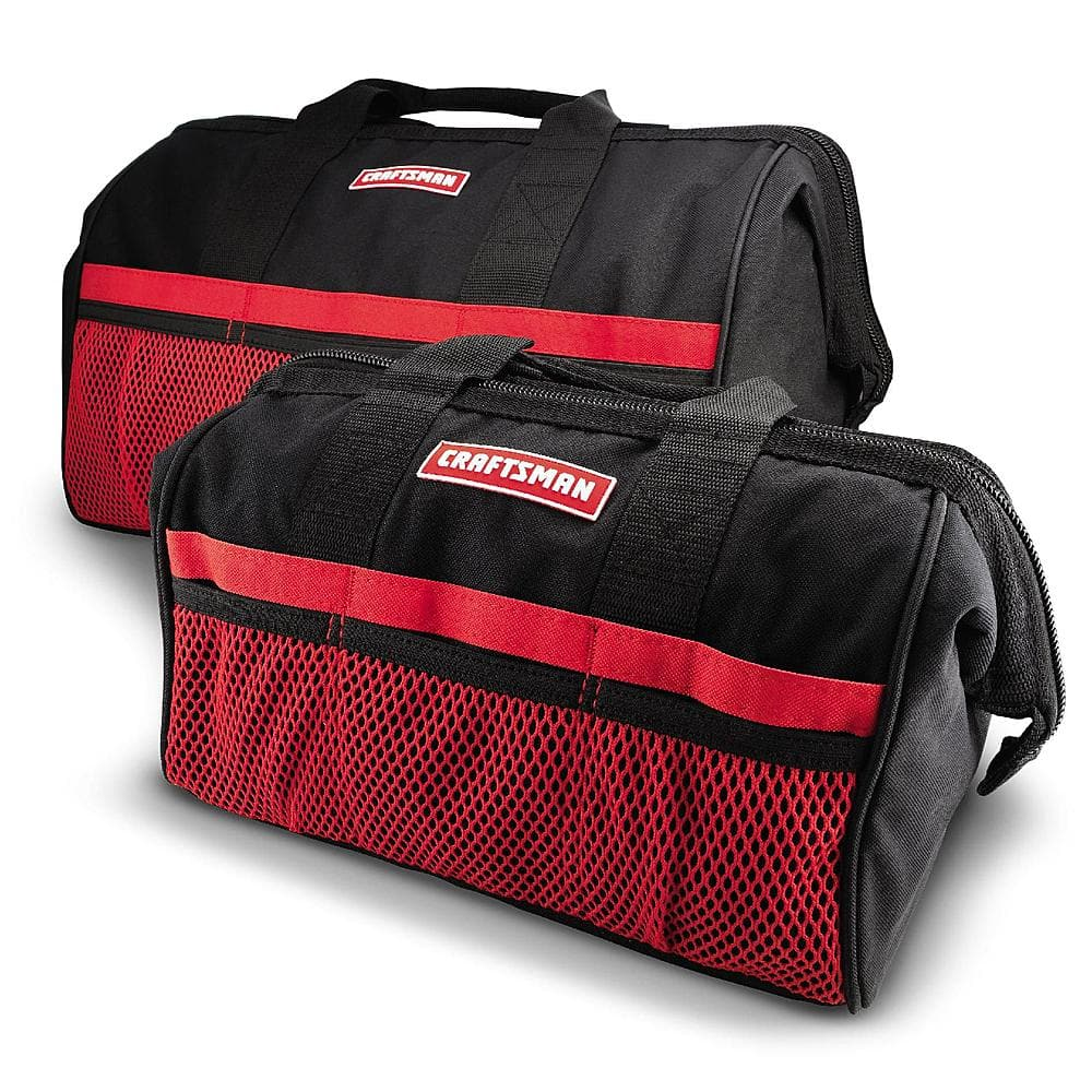 "Craftsman 13"" & 18"" Tool Bag Combo $9.99"