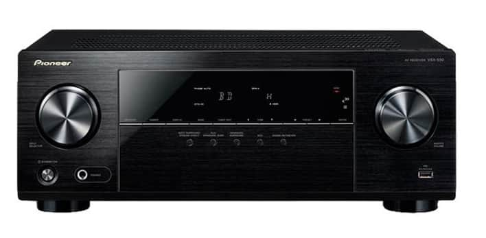 Brand New Pioneer VSX-530-K 5.1-Channel AV Receiver with Built-in Bluetooth for $129.99 + $5 shipping (Woot.com)
