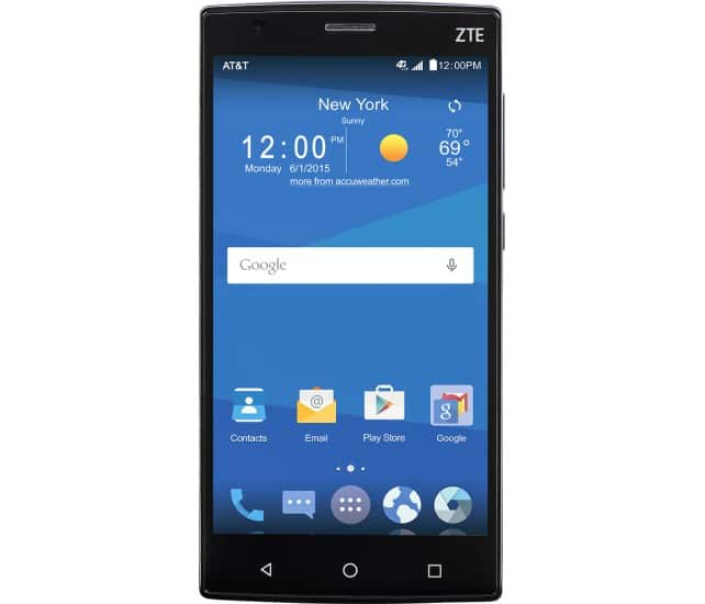 """16GB ZTE Zmax 2 5.5"""" AT&T GoPhone No-Contract Smartphone  $60 + Free Store Pickup"""