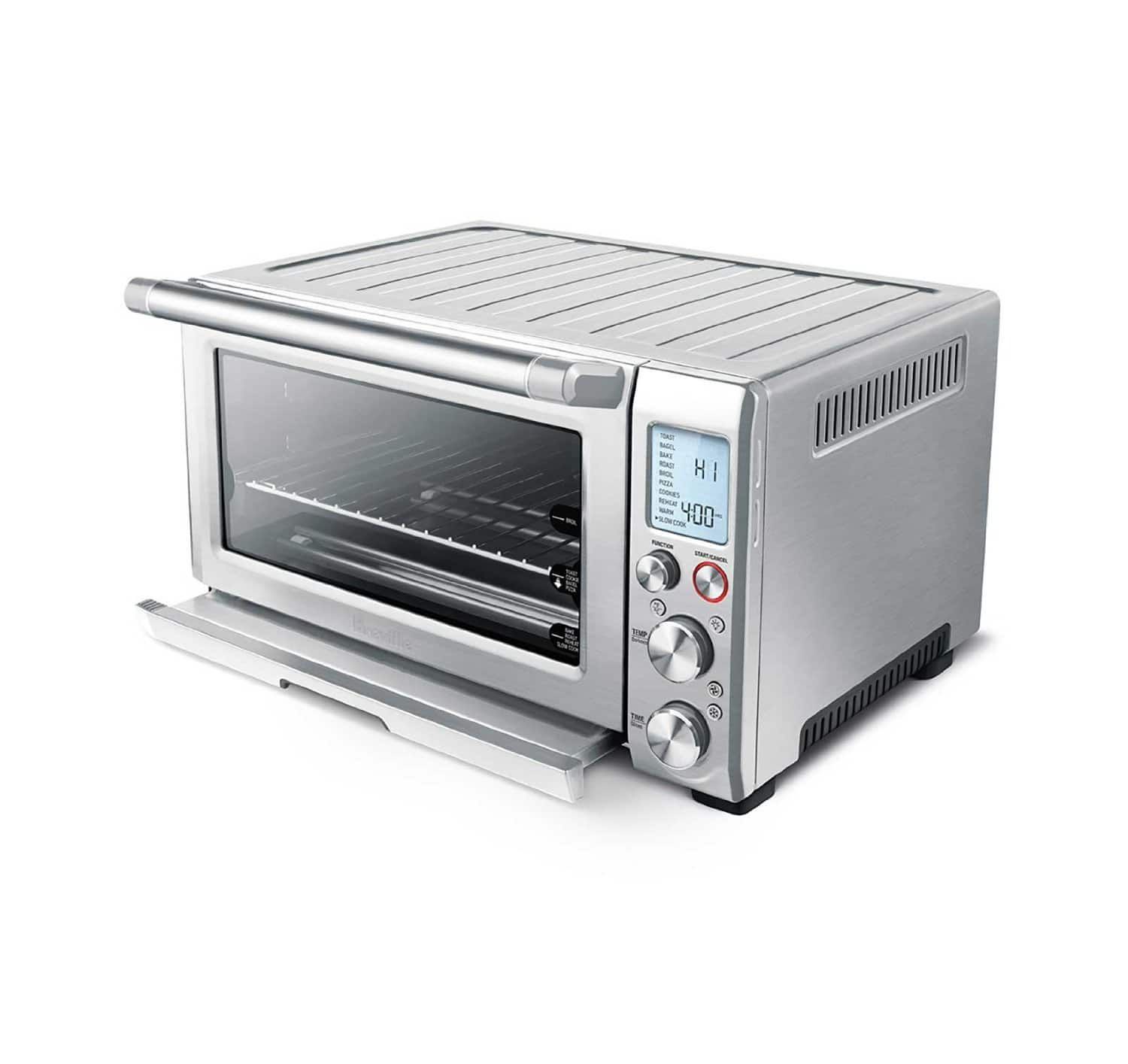 Breville smart oven pro 1800w convection toaster oven for Breville toaster oven