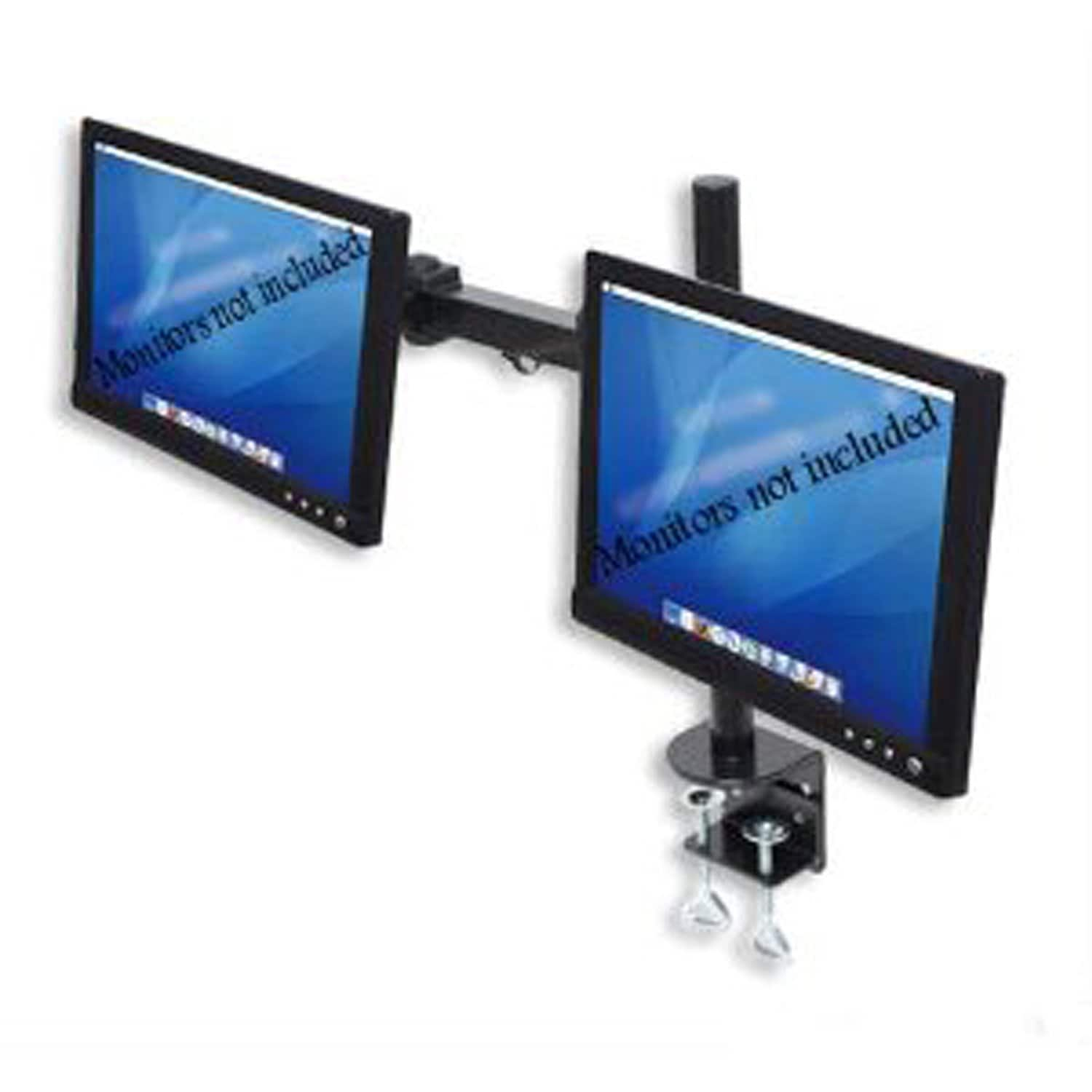 """Halter Dual-Monitor Stand Desk Clamp for LCD Monitors up to 27""""  $30 + Free Shipping"""
