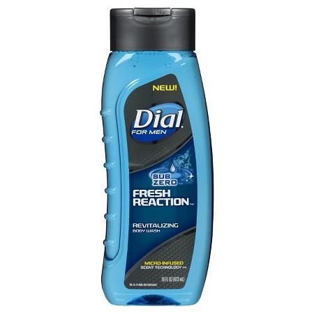 4-Pack Dial Sub Zero Fresh Reaction Body Wash (16oz ea) + $5 Gift Card  $10.70 + Free Shipping