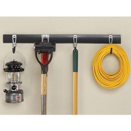 5-Piece Rubbermaid FastTrack Garage Storage System  $25.40