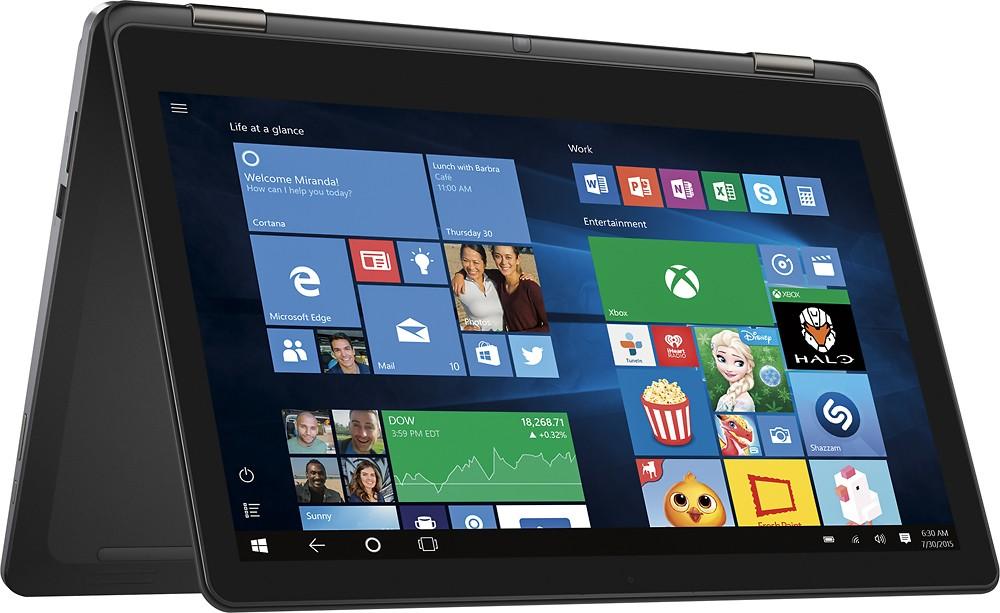 "Dell Inspiron 15.6"" 4K 2-in-1 Touchscreen Laptop: i7-6500U, 8GB RAM, 1TB HDD  $570 + Free Shipping"