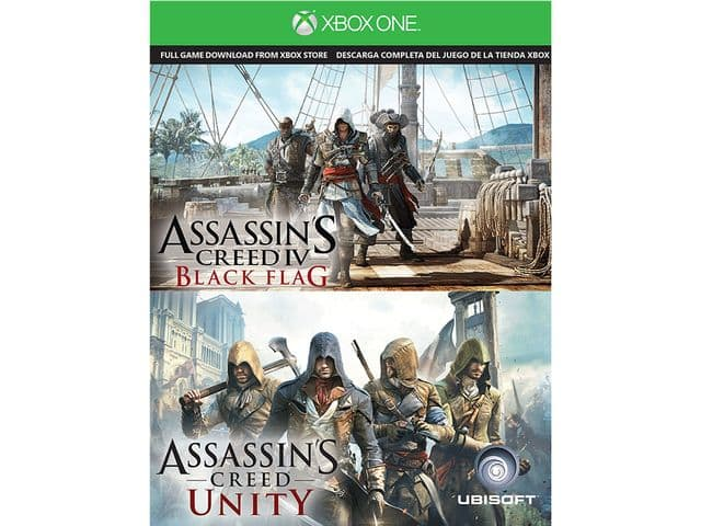 Ubisoft Assassin's Creed IV Black Flag & Assassin's Creed Unity (Xbox One) +  Konami Pro Evolution Soccer 2015 (Xbox One) for Free After Rebate + S&H @ Newegg.com
