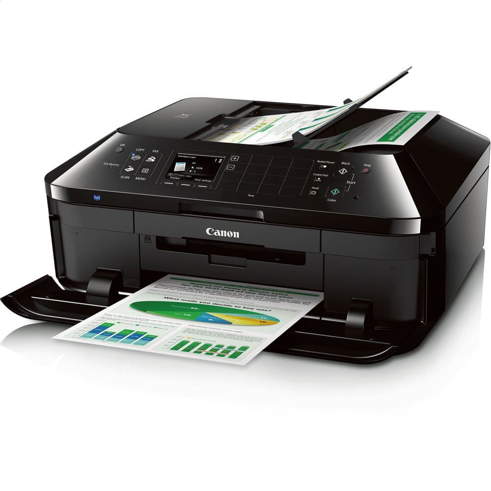 Canon - PIXMA MX922 Wireless All-In-One Printer - Black -$69.95 + Free shipping @ HSN ($80 off)