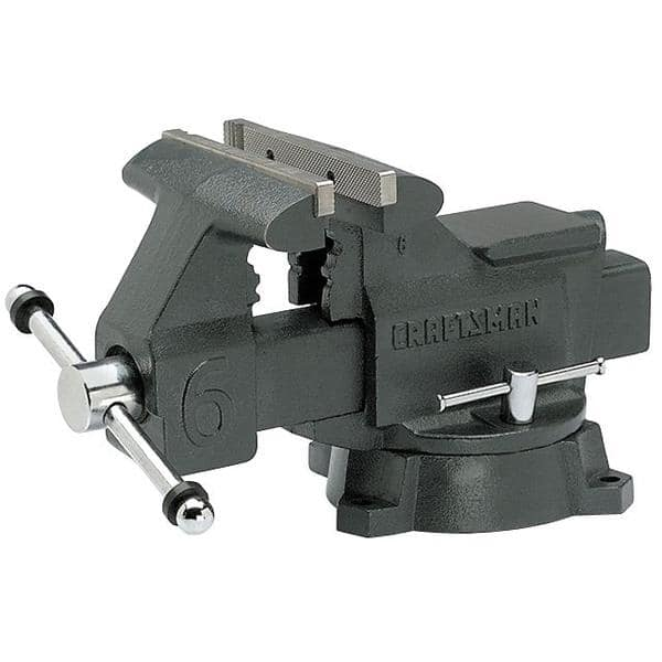 6 inch Craftsman Bench Vise $50 + FS + $5.50 in  points - some getting it for $40 and $27 in points