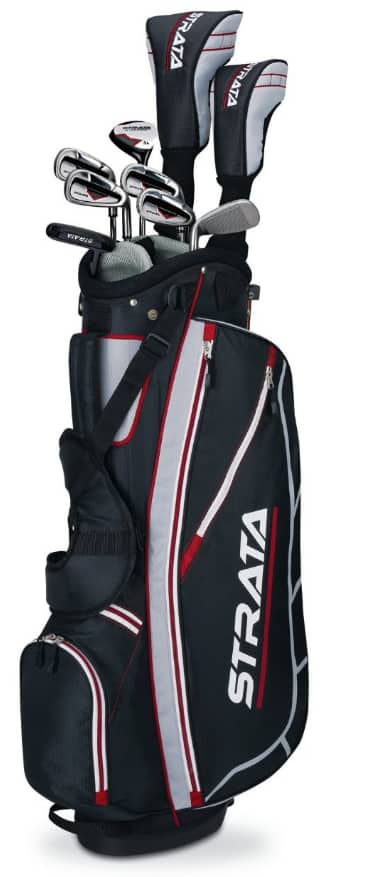 Amazon Prime: Callaway Golf Set: 18-pc Strata Ultimate $250, 12-pc Stratra Complete  $135 + Free Shipping