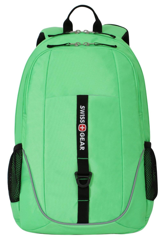 "SwissGear SA6639 15"" Laptop Backpack (Neon Green) $11.60 + Free Shipping w/ Prime Amazon.com"