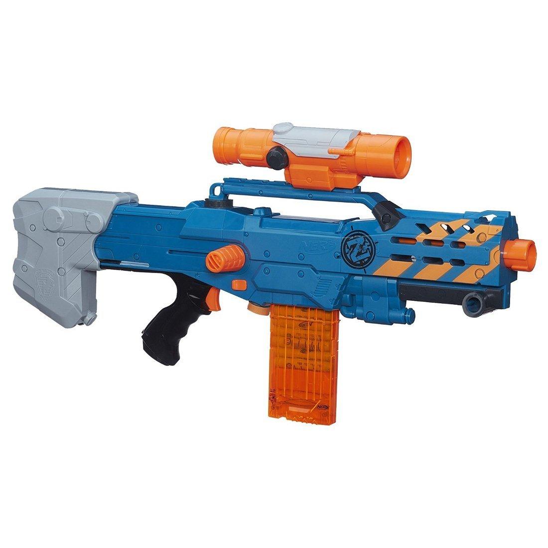 Nerf Zombie Strike ZED Squad Longshot CS-12 Blaster - $15 w/ free store pickup or fs with SP
