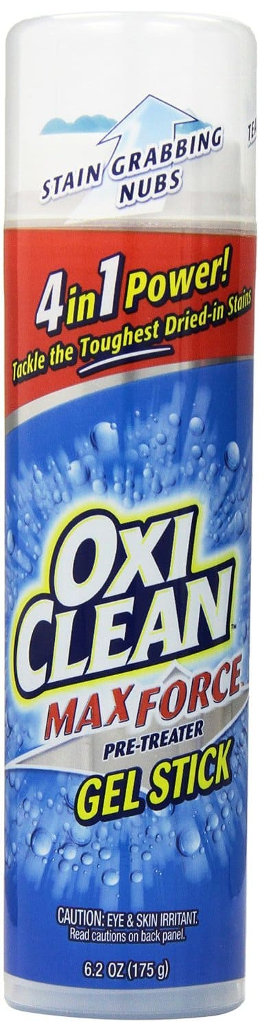 OxiClean Max Force Gel Stick, 6.2oz  (Pack of 2)  $4.67 or  Less, Amazon S&S w/ Coupon