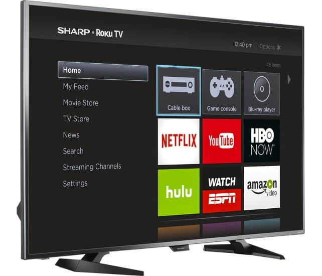 "50"" Sharp LC-50LB481U 1080p Roku Smart LED HDTV $349.99 + Free Shipping"