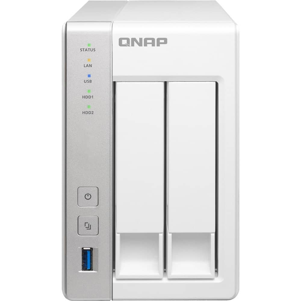 QNAP TS-231 2-Bay Diskless Personal Cloud NAS for $105.00 AC + Free Shipping @ Newegg.com