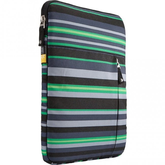 """Case Logic Sleeve for 9-10"""" Tablets (Green Striped)  $4 + Free Shipping"""