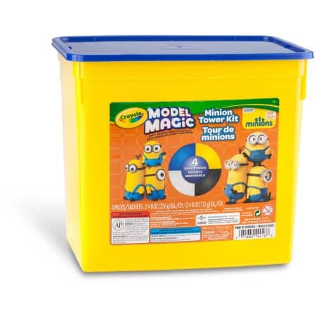 Crayola Model Magic Clay 1.5 lb Tub (Minion Edition Set) $7.27 + free shipping