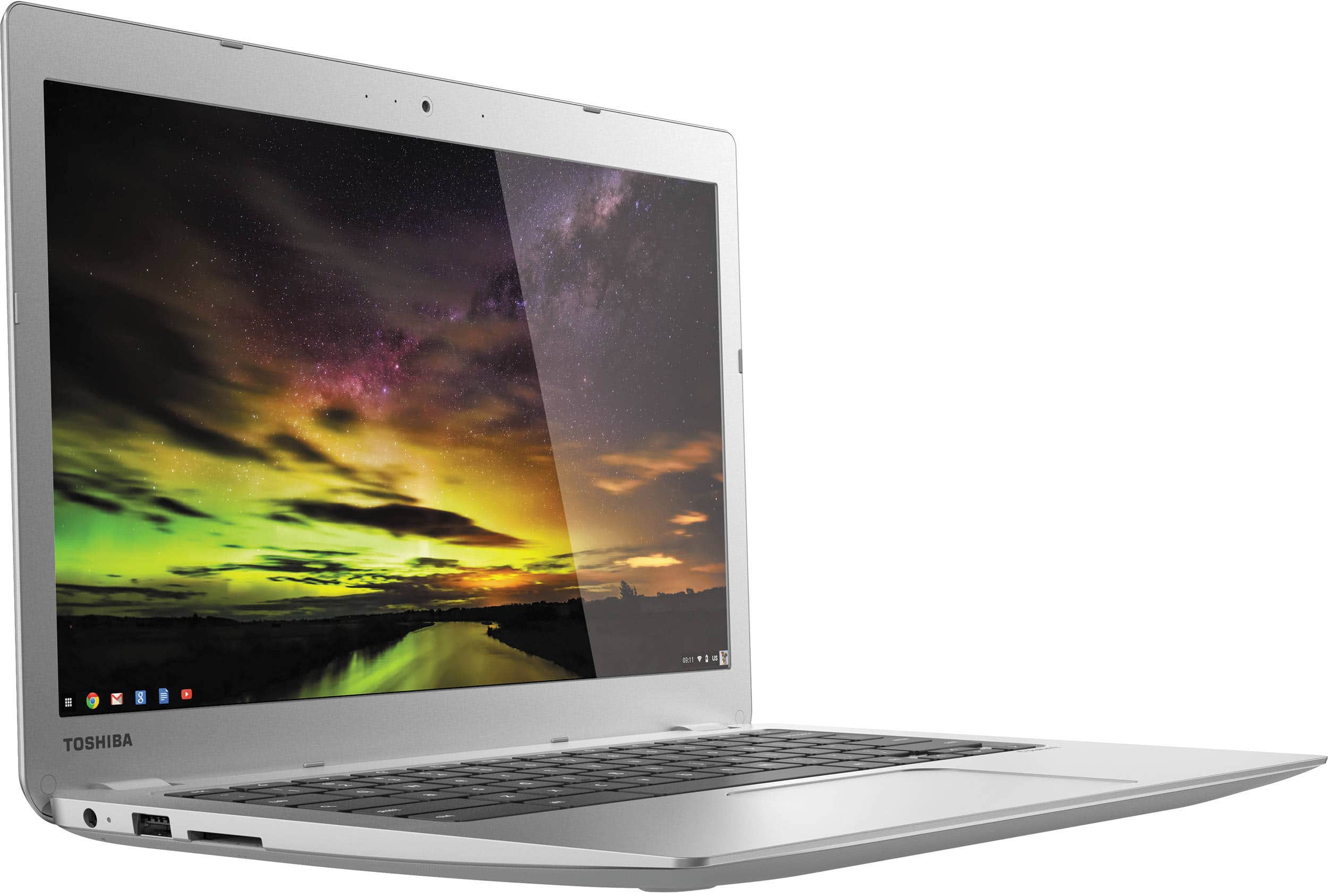 "Toshiba 13.3"" Chromebook 2, CB35-B3340, refurbished $160 + s/h Meh"