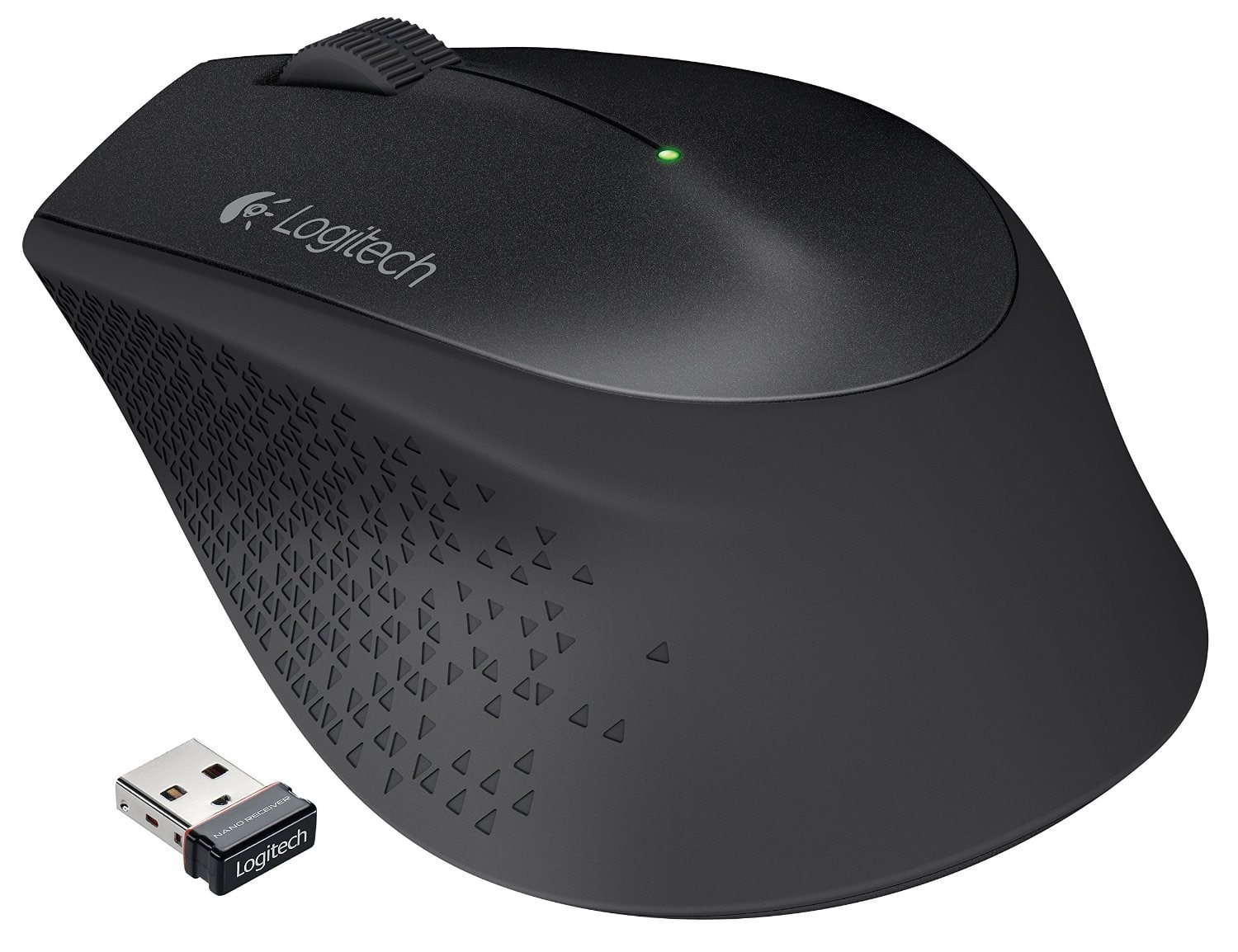 Logitech PC Accessories: K400 Wireless Touch Keyboard $19, M320 Wireless Mouse  $9