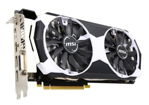 MSI GeForce GTX 980TI 6GB OC Video Card  $365 after $30 Rebate + Free S/H