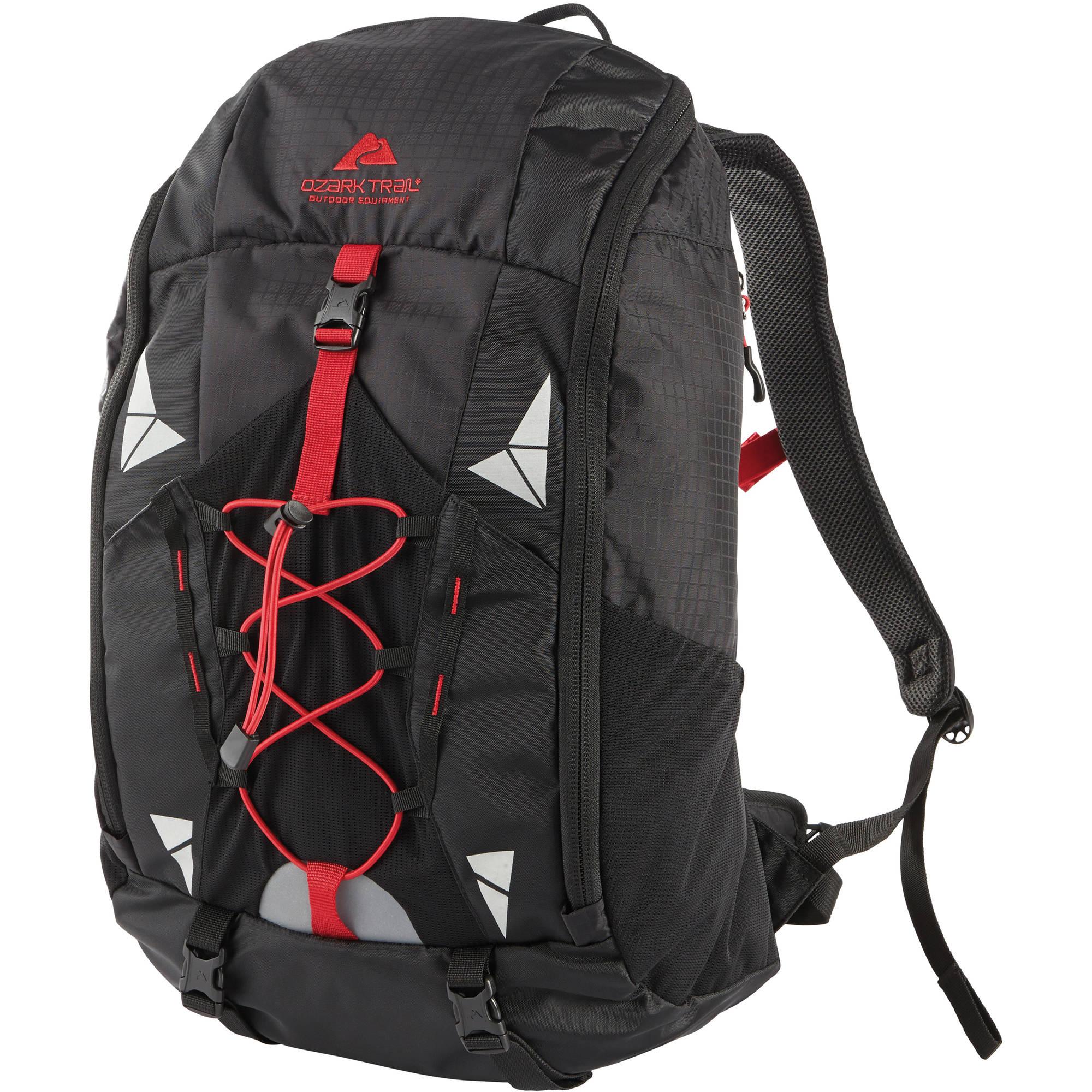 Ozark Trail 40L Crestone Backpack (Black or Orange)  $20 + Free Store Pick-Up
