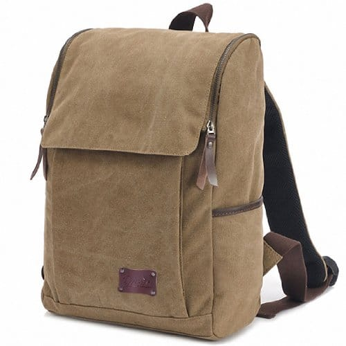 Zebella Casual Canvas Laptop Travel Backpack $7.41 or Cross Body Bag $6.21 + Free Shipping Prime