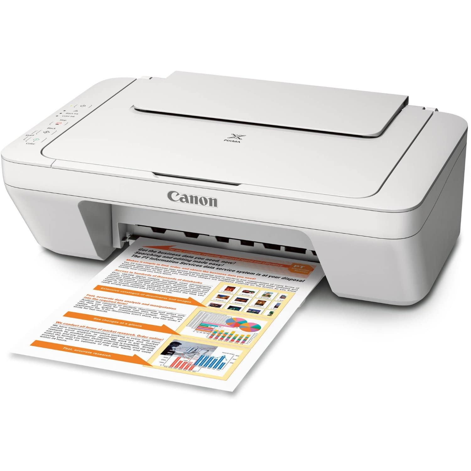 Canon PIXMA MG2520 Inkjet All-In-One Printer  $19 + Free Shipping