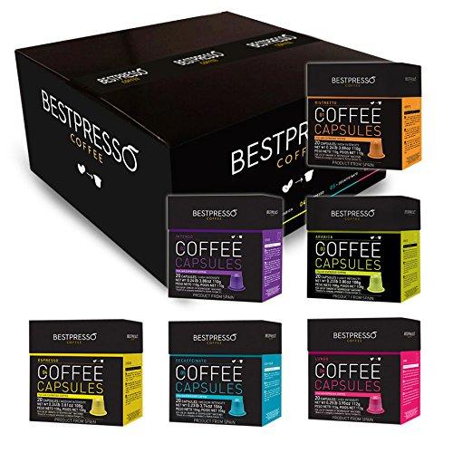 120-Count Bestpresso Nespresso Capsules (Variety)  $34