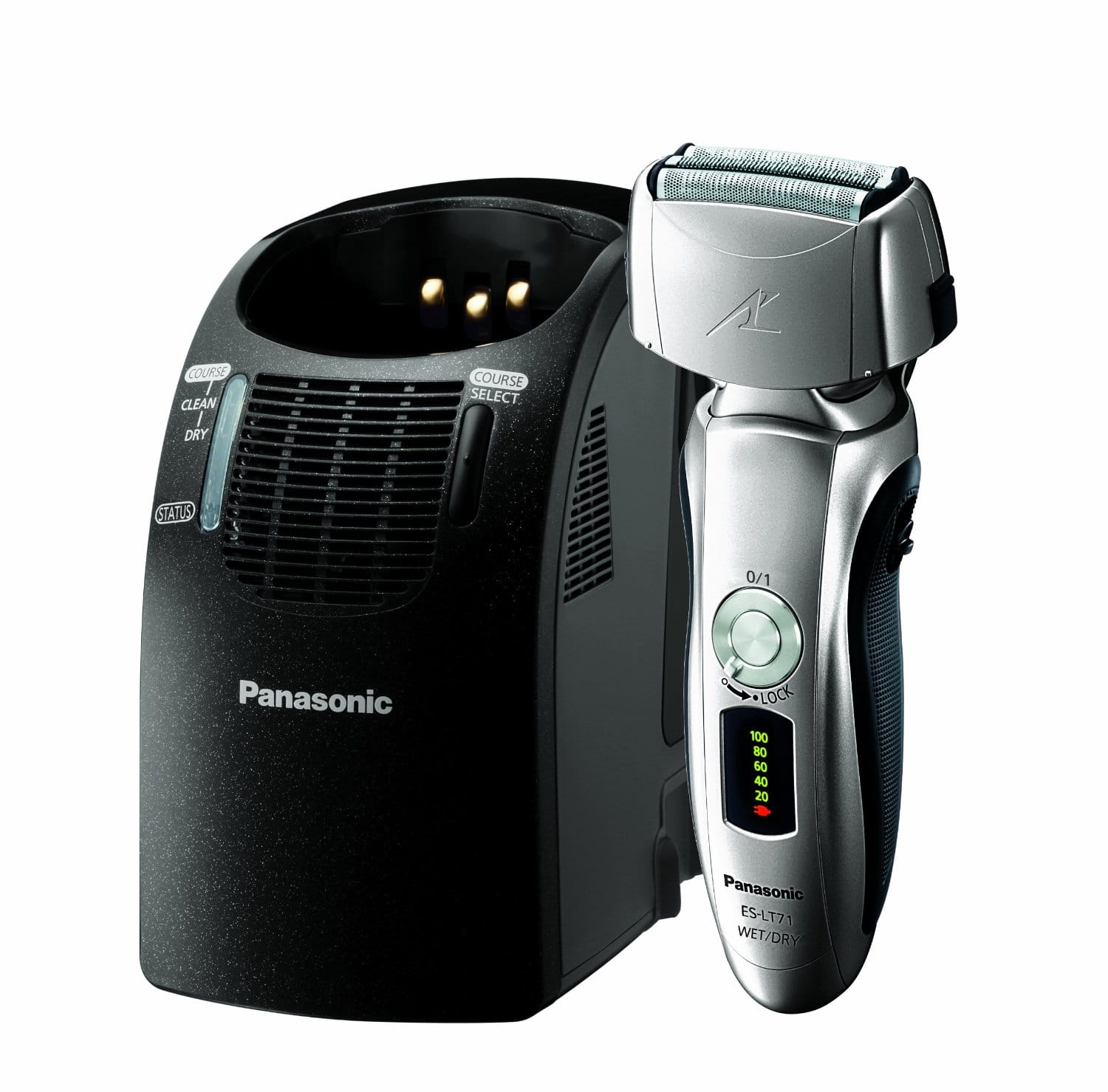 Panasonic: Arc3 3-Blade Shaver with Auto Cleaner (ES-LT71-S) $69.99 Plus Free Shipping