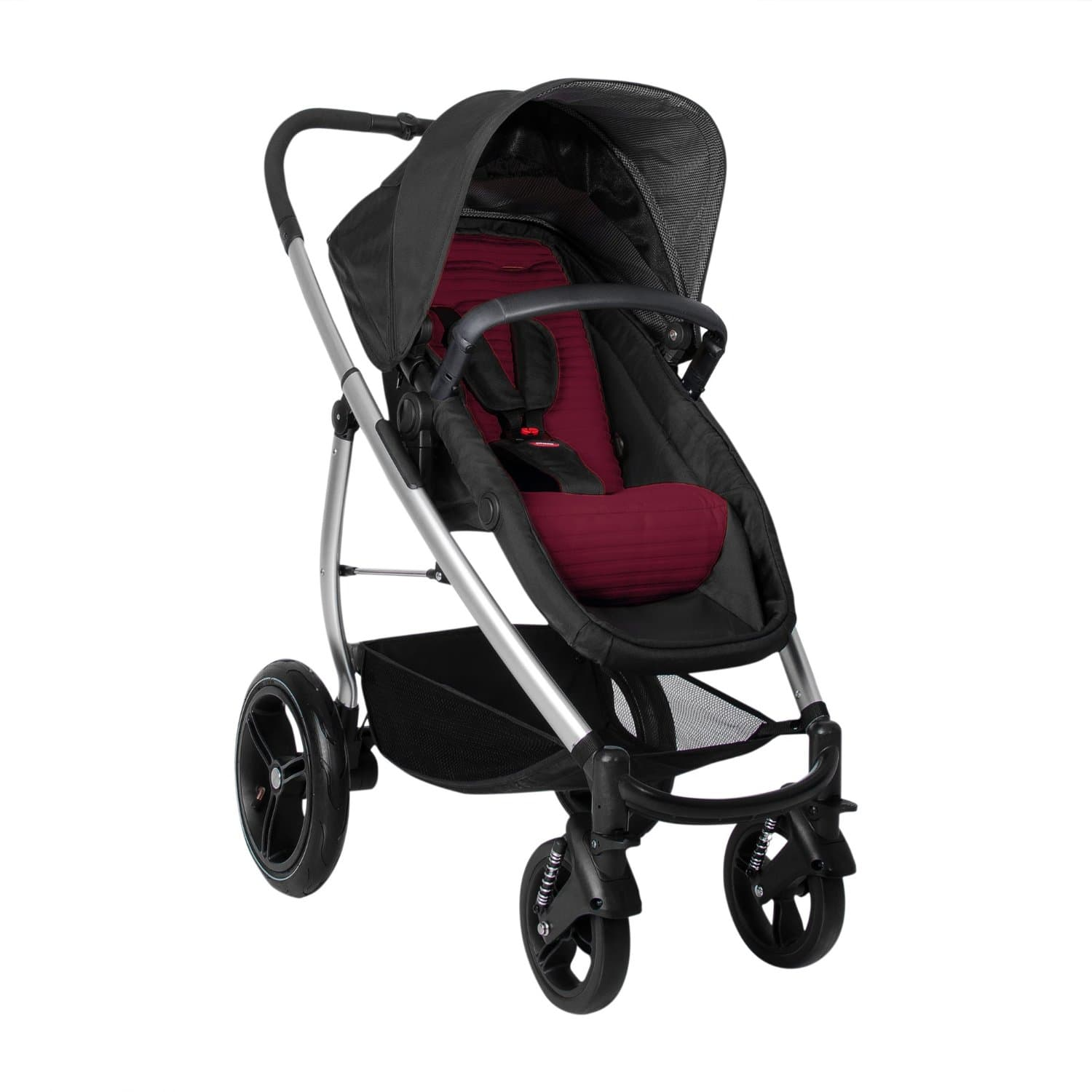 Phil&teds Smart Lux Stroller: Taupe $150 or Ruby  $145 + Free Shipping