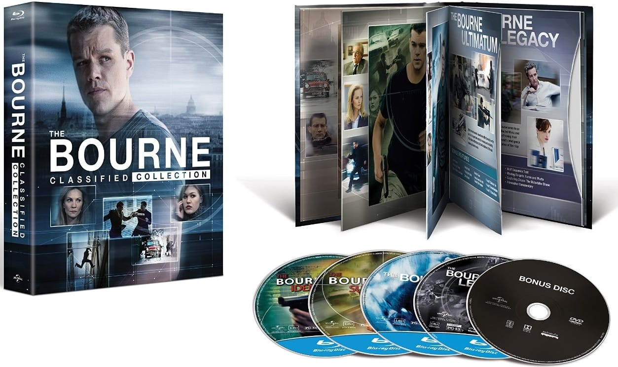 The Bourne Classified Collection (Blu-ray + Digital HD)  $20
