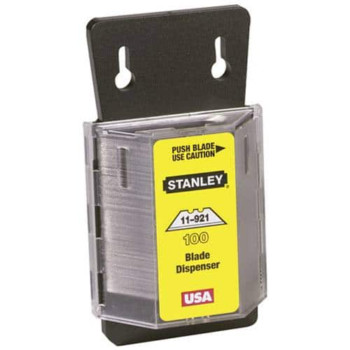 100-Count Stanley Heavy-Duty Blades w/ Dispenser - $5.99 + Free In-Store Pick Up