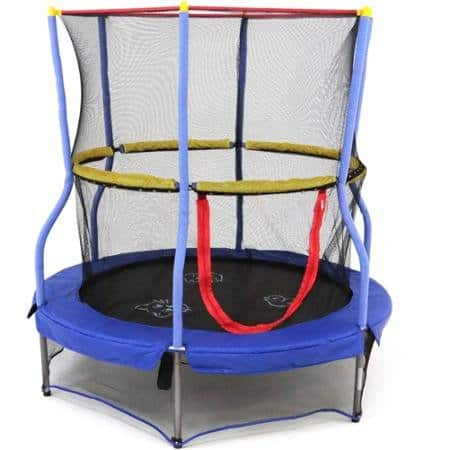 "Skywalker 55"" Round Bounce-n-Learn Interactive Game Trampoline $39"