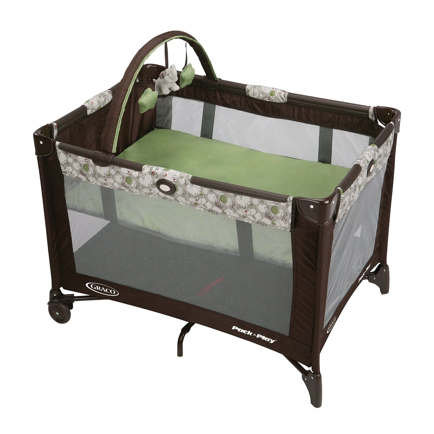 Graco Pack N Play Playard with Automatic Folding Feet, Zuba 32.88 + Free Shipping on Orders Over $49